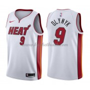 Miami Heat Basket Tröja 2018 Kelly Olynyk 9# Association Edition..